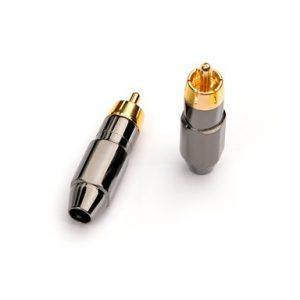 FICHE RCA MIT TWIST-ON RCA CONNECTOR POUR CABLE CMR