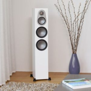 ENCEINTES MONITOR AUDIO SERIE 6G SILVER 300 (paire)